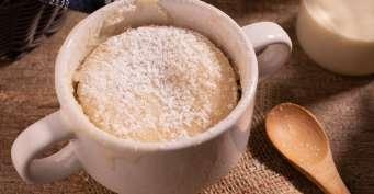 Dessert recipes: Vanilla Mug Cake