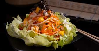 Lunch recipes: Kani Salad