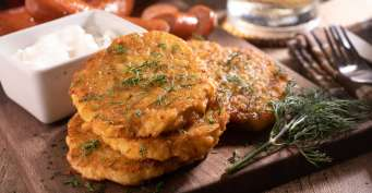 Appetizer recipes: German Potato Pancakes