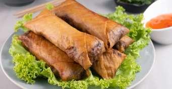Appetizer recipes: Vietnamese Egg Rolls