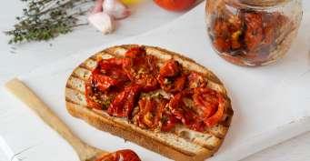 Appetizer recipes: Tomato Confit