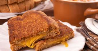Lunch recipes: Air Fryer Grilled Cheese
