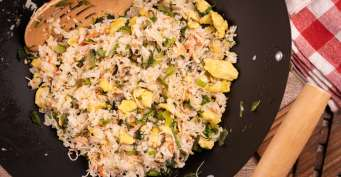 Dinner recipes: Crab Fried Rice