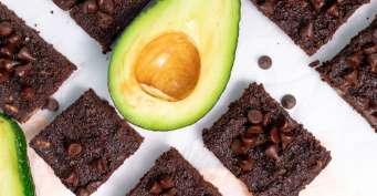 Dessert recipes: Avocado Brownies