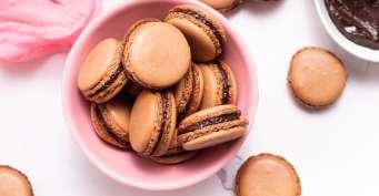 Dessert recipes: Chocolate Macarons