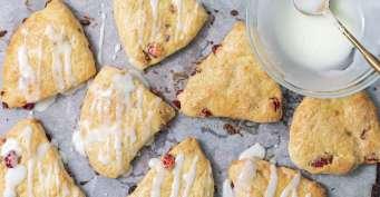 Breakfast recipes: Cranberry Orange Scones
