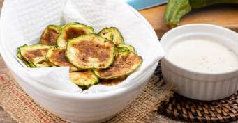Snacks recipes: Air Fryer Zucchini Chips