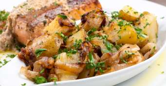 Side Dish recipes: Fried Potatoes and Onions
