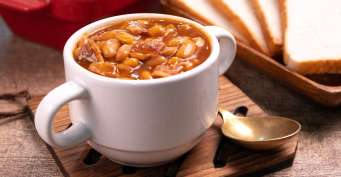 Side Dish recipes: Instant Pot Baked Beans