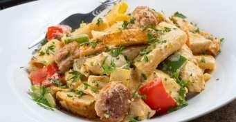 Dinner recipes: Cajun Chicken Alfredo