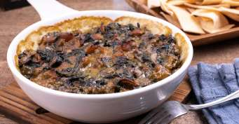 Appetizer recipes: Keto Creamed Spinach