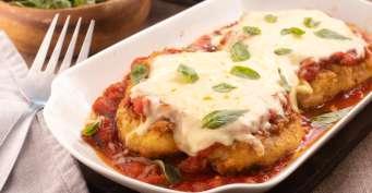 Dinner recipes: Keto Chicken Parmesan