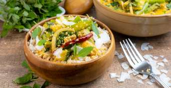 Dinner recipes: Thai Red Curry (Vegetarian)