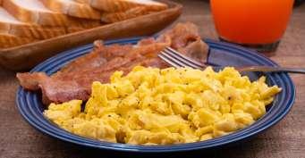 Breakfast recipes: Fluffy Scrambled Eggs