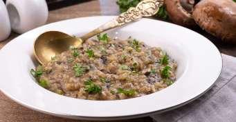 Dinner recipes: WIld Mushroom Risotto