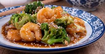 Dinner recipes: Shrimp and Broccoli