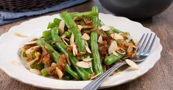 Side Dish recipes: Green Bean Almondine