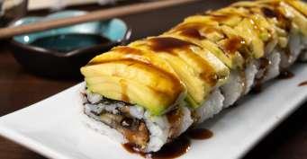 Dinner recipes: Caterpillar Roll