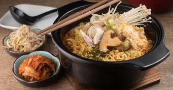 Dinner recipes: Korean Ramen