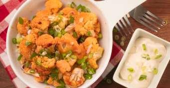 Side Dish recipes: Air Fryer Buffalo Cauliflower