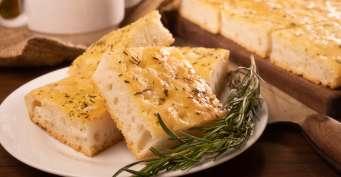 Snacks recipes: Rosemary Focaccia