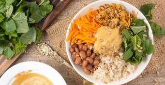 Dinner recipes: Vegan Burrito Bowl