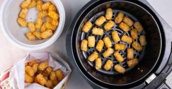Snacks recipes: Air Fryer Tater Tots