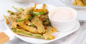 Snacks recipes: Fried Green Beans