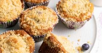 Breakfast recipes: Gluten Free Blueberry Muffins