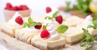 Dessert recipes: Lemon Cheesecake Bars