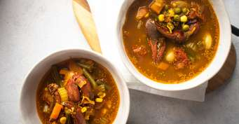 Appetizer recipes: Maryland Crab Soup