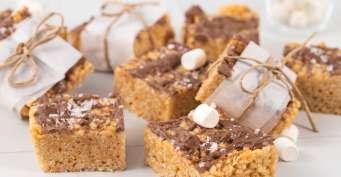 Dessert recipes: Peanut Butter Rice Krispie Treats