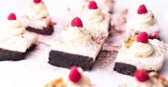 Dessert recipes: Raspberry Brownies