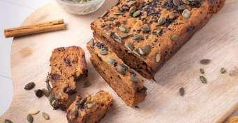 Breakfast recipes: Vegan Pumpkin Bread