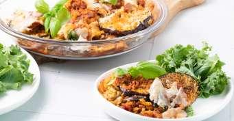 Dinner recipes: Vegan Eggplant Parmesan