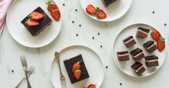 Dessert recipes: Strawberry Brownies