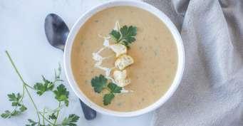 Lunch recipes: Vegan Potato Soup