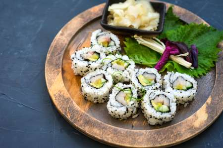 Hand Roll Sushi and More
