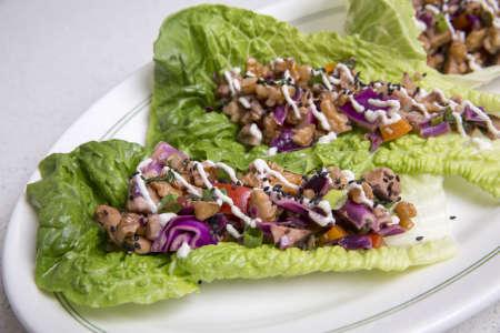 Vegetarian Southeast Asian Tapas