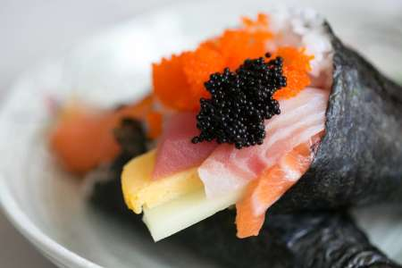 Hand Roll Sushi Party