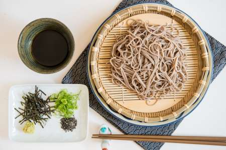 Classic Japanese Soba Noodles