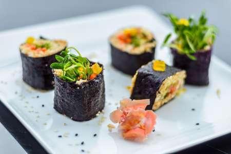 Vegetarian Sushi 101