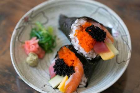 Japanese Dinner Party Menu