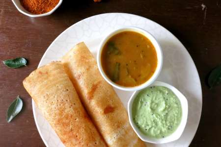 Indian Dosa Feast