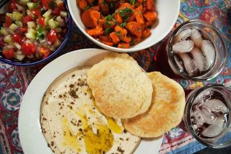 Middle Eastern Salad Feast