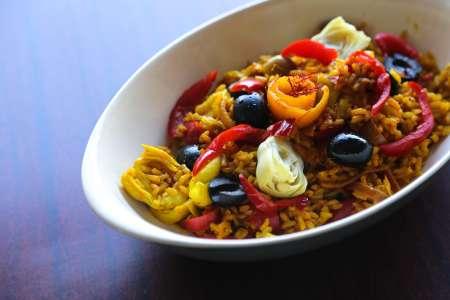 Vegetable Paella Experience