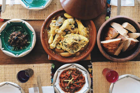 Romantic Moroccan Brunch for 2