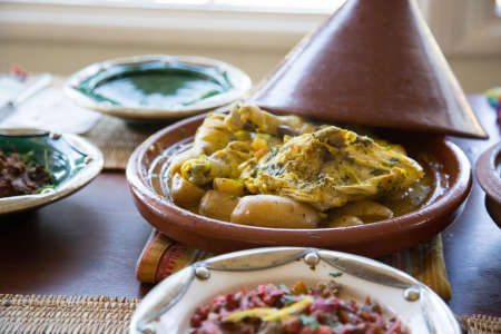 Moroccan Chicken Tagine and More!