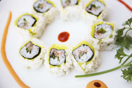 Simple, Tasty, Healthy at Home Sushi