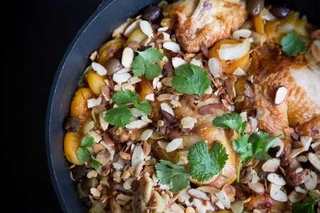 cinnamon ginger moroccoan chicken